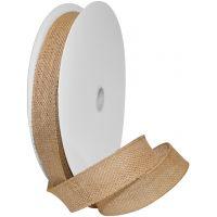 "Burlap Wired Ribbon 1.5""X10yd NOTM410647"