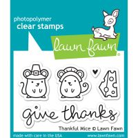 """Lawn Fawn Clear Stamps 3""""X2"""" NOTM508371"""