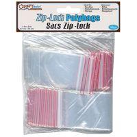Ziplock Polybags 100/Pkg NOTM491139