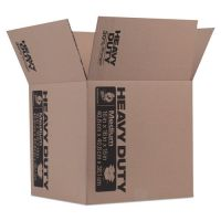Duck Heavy-Duty Moving/Storage Boxes, 16l x 16w x 15h, Brown DUC280728