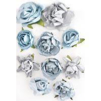 "Paper Blooms 1"" To 1.5"" 10/Pkg NOTM465724"