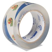 "Duck Carton Sealing Tape 1.88"" x 60yds, 3"" Core, Clear DUCHP260C"