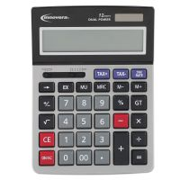 Innovera 15975 Large Digit Commercial Calculator, 12-Digit LCD IVR15975