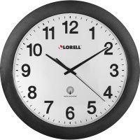 "Lorell 12"" Round Radio Controlled Wall Clock LLR60997"