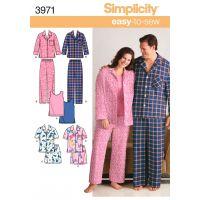 SIMPLICITY PLUS SIZE WOMEN AND MENS PAJA NOTM495946