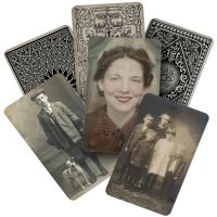"Idea-Ology Found Relatives Cards 3""X5"" 24/Pkg NOTM321205"