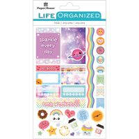 "Paper House Life Organized Planner Stickers 4.5""X7.5"" NOTM529185"