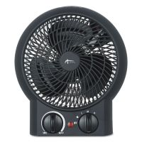 "Alera Heater Fan, 8 1/4"" x 4 3/8"" x 9 3/8"", Black ALEHEFF10B"