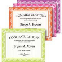 Geographics Auroral Medallion Award Certificates GEO48672