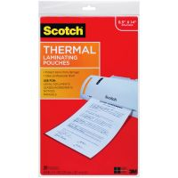 Scotch Thermal Laminator Pouches 3 Mil 20/Pkg NOTM400498