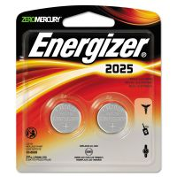 Energizer Watch/Electronic/Specialty Battery, 2025, 3V, 2/Pack EVE2025BP2