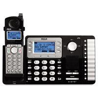 RCA ViSYS Cordless Expandable Phone System, 2 Lines, 1 Handset RCA25212