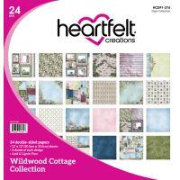 "Heartfelt Creations Double-Sided Paper Pad 12""X12"" 24/Pkg NOTM303587"