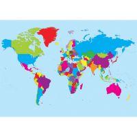 Ashley Magnetic World Map ASH77013