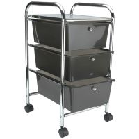 Cropper Hopper Home Center Rolling Cart W/3 Drawers NOTM297514