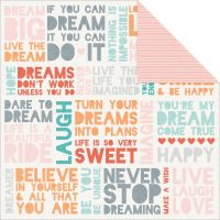 Dream Big Double-Sided Cardstock  NOTM439478