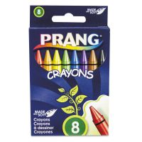 Prang Crayons Made with Soy, 8 Colors/Box DIX00000