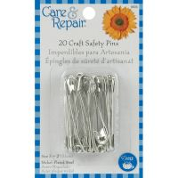 Dritz Care & Repair Craft Safety Pins 20/Pkg NOTM084372