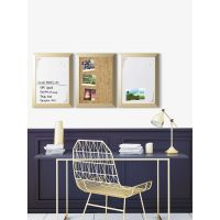 "MasterVision Positive Flow Metallic Gold Message Board Set, 18"" x 24"", 3/Set BVCSOR031"
