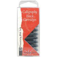Manuscript Fountain Pen Ink Calligraphy Cartridges 12/Pkg NOTM270551