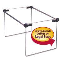 """Smead Hanging Folder Frame, Letter/Legal Size, 12-24"""" Long, Steel, 2/Box SMD64855"""