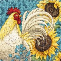 Dimensions Gold Petite Rooster Counted Cross Stitch Kit NOTM051505