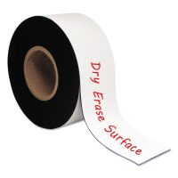 """MasterVision Dry Erase Magnetic Tape Roll, White, 3"""" x 50 Ft. BVCFM2218"""