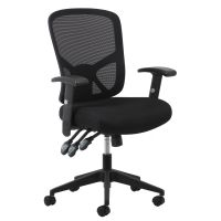 Essentials by OFM Ergonomic High-Back Mesh Task Chair with Arms and Lumbar Support OFMESS3050