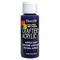 Deco Art Crafter's Acrylic Navy Blue Acrylic Paint NOTM135502