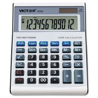 Victor 6500 Executive Desktop Loan Calculator, 12-Digit LCD VCT6500