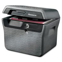 Sentry Safe Waterproof Fire-Resistant File, .65 ft3, 16 5/8 x 13 7/8 x 14 1/8, Charcoal Gray SENFHW40200