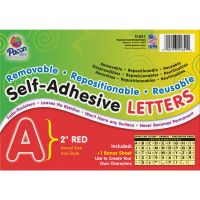 Pacon Reusable Self-Adhesive Letters PAC51651