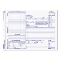 Rediform Four-Part Auto Repair Form, 11 x 8 1/2, Four-Part Carbonless, 50 Forms RED4P489