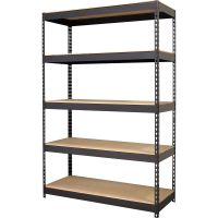 Lorell Riveted Steel Shelving Unit LLR61622