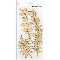 Wood Flourishes 3/Pkg NOTM448748
