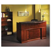 Tiffany Industries Sorrento Reception Desk Screen With Marble Counter, 72w x 38-1/2d x 15-1/2h MLNSRCMSCR