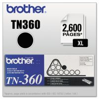 Brother TN360 High-Yield Toner, Black BRTTN360