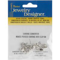 Earring Converters Pierced To Clip-On 4/Pkg NOTM151955