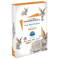 Hammermill Fore MP Multipurpose Paper, 96 Brightness, 24 lb, 11 x 17, White, 500 Sheets/Ream HAM102848