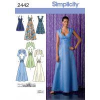 SIMPLICITY MISSES SPECIAL OCCASION NOTM495419