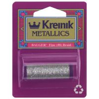 Kreinik Fine Metallic Braid #8 11yd NOTM013535