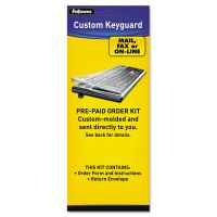 Fellowes Keyboard Protection Kit, Custom Order, Polyurethane FEL99680