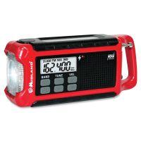 Midland ER210 E+Ready Compact Emergency Crank Weather Radio MROER210