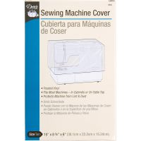 Vinyl Sewing Machine Cover NOTM083113