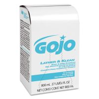 GOJO Lather & Klean Body & Hair Shampoo Refill, Pleasantly Scented, 800 ml GOJ912612