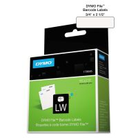 DYMO LabelWriter Bar Code Labels, 3/4 x 2 1/2, White, 450 Labels/Roll DYM1738595