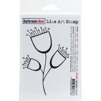 """Darkroom Door Cling Stamp 4.5""""X3"""" NOTM312808"""
