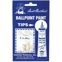 Aunt Martha's Ballpoint Paint Tube Replacement Tips 6/Pkg NOTM050591