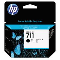 HP 711, (CZ133A) Black Original Ink Cartridge HEWCZ133A
