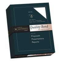 Southworth Quality Bond #1 Sulphite Paper, 20lb, 95 Bright, Wove, 8 1/2 x 11, 500 Sheets SOU3162010